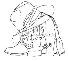 coloring pages cowboy boots - 1000 images about cowboy boot quilts on pinterest