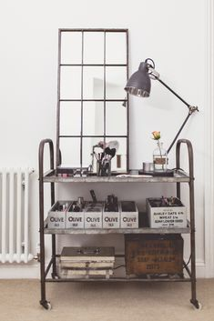 Home Office Of Lifestyle and Wedding Blogger Charlotte O'Shea