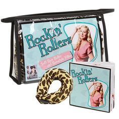 Vintage Hairstyling Rockin' Rollers Soft Hair Roller Set