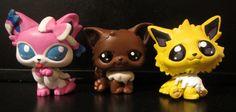 DeviantArt: More Like Eeveelution LPS customs so far part 2 by pia-chu Pokemon Craft, Pokemon Fan Art, Little Pet Shop, Little Pets, Custom Lps, Lps Pets, Cute Cartoon Drawings, Cute Monsters, Childhood Toys