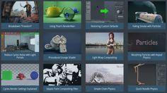 Blender HD - Tutorials page.