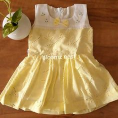Baby Boy Dress, Baby Girl Party Dresses, Toddler Girl Dresses, Little Girl Dresses, Baby Frocks Designs, Kids Frocks Design, Simple Frocks, Kids Summer Dresses, Kids Dress Wear
