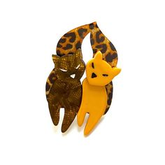 Retro, kitschy, vintage inspired brooches, necklaces and earrings by Erstwilder. Cat Pin, Resin Jewelry, Scooby Doo, Vintage Inspired, Whimsical, Addiction, Jewels, Retro, My Style