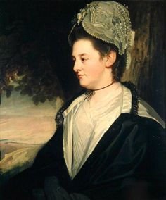 Lady Louisa Conolly (George Romney - ) 1776.  Lady Louisa was a great grandchild of Charles II and Louise de Kerouaille.