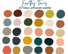 Color Palette For Home, Earthy Color Palette, Neutral Colour Palette, House Color Palettes, Retro Color Palette, Spring Color Palette, Color Tones, Jewel Tones, Website Color Palette