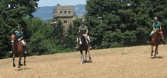 Horse riding in Tuscany!