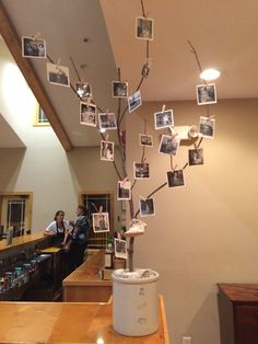 Photo Display For Mom And Dads 60th Birthday