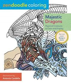 Majestic Dragons: Mystical Creatures to Color and Display