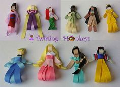 Disney Princess ribbon bows