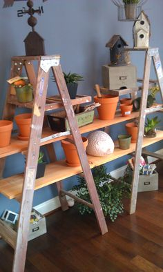 Ladder shelves | Escalera