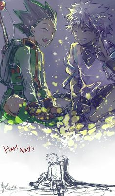 Killua and gon hunter x hunter Hisoka, Zoldyck, Gon Killua, Hunter X Hunter, Hunter Anime, Manga Anime, Fanarts Anime, Anime Art, Anime Love