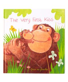 Another great find on #zulily! Very First Kiss Hardcover by Bradley's Books #zulilyfinds