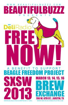 Beautiful Buzzz Presents: FREE NOW! @ SXSW 2013 - Austin, TX