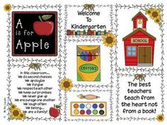 This fun and free download is for a printable that you can simply print, insert in a frame and get to some fun gift giving for all your Back to Sch...