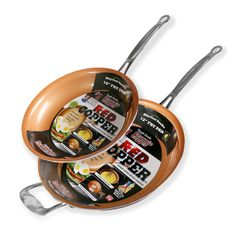 Product Image for Red Copper™ Fry Pan 1 out of 2
