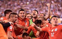Chile se impuso 4-2 desde los 12 pasos el domingo en la final de la Copa América Centenario