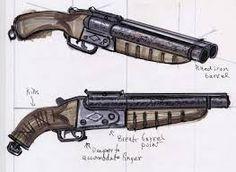 Картинки по запросу fallout weapon concept art