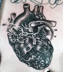 Resultado de imagen de tatuaje motor corazon