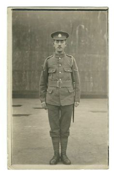 1915-Real-Picture-Postcard-WWI-Soldier-Beeson-School-Gunnery-Shoeburyness