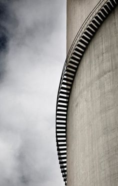 energy of the future (nuclear power plant chimneys)