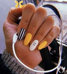 <br> Summer Acrylic Nails, Best Acrylic Nails, Summer Nails, Acrylic Nails With Design, Nail Ideas For Summer, Acrylic Nail Designs For Summer, Acrylic Nails Yellow, Yellow Nails Design, Acrylic Art