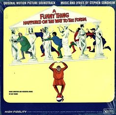 """""""A Funny Thing Happened On The Way To The Forum""""  (1966, United Artists).  Music from the movie soundtrack."""