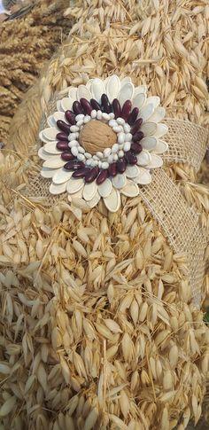 Diy Flowers, Diy And Crafts, Grains, Seeds, Bikini, Activities, Burlap, Fall Lanterns, Craft