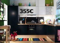 Cuisine noire Ikea 2010