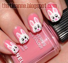 thatleanne: Nail Art (so cute for a little girl)