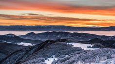 Východ slnka na Kľaku :) čarovné #praveslovenske od @simontrnkaphotoadventures http://ift.tt/1SWSXAq