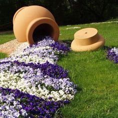This may be an idea to use between trees   where bare spots can be found in the yard.