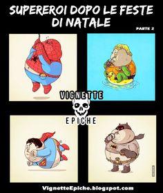 Vignette Epiche Supereroi