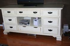 Dresser turned Media Console