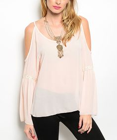 d1accbc79bc0e Pink Cutout Off-Shoulder Top by Shop the