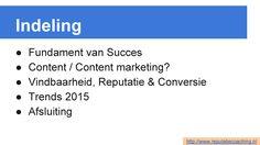 """Op 16 januari 2015 gaf ik een presentatie bij CoffeePitch Apeldoorn met als titel """"Verbeter je online zichtbaarheid, vindbaarheid en reputatie voor meer omzet"""". Dit is een slide uit die presentatie. #coffeepitch #apeldoorn #zichtbaarheid #vindbaarheid #reputatie #reputatiemanagement #reputatiecoach #reputatiecoaching via http://www.reputatiecoaching.nl/112/"""