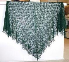 Free Shawl Patterns   Free Knitting Pattern - Shetland Lace Shawl from the Lace shawls:                                                                                                                                                                                 More