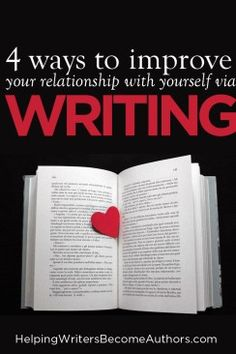 4 Ways Writing Improves Your Relationship With Yourself - Helping Writers Become Authors. The more you learn to listen to the self that appears on the page, the more writing improves your relationship with yourself in an ever-deepening journey. Fiction Writing, Writing Advice, Writing A Book, Writing Prompts, Writing Worksheets, Writing Resources, Biography Books, Argumentative Essay, Science