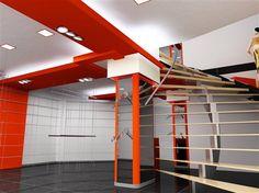 Touches de vitalité #orange #escaliers | Zolpan