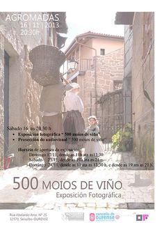 500 moios de viño @ Asociación Cultural Agromadas - Seixalbo - Ourense expo exposición fotografía Outono Fotográfico