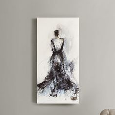 Found it at AllModern - Belle of the Ball by Elise's Green Painting Print on Wrapped Canvas