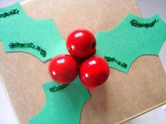 Når genbrug bliver guld...: 7. december - Julet gaveæske af mælkekartonner