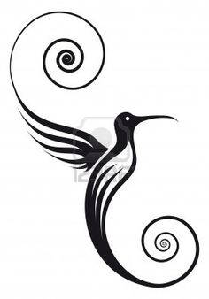 Illustration of Hummingbird with pretty delicate wings and tail Image can be used for your logo vector art, clipart and stock vectors. Flower Background Design, Flor Tattoo, Wrist Tattoos Girls, Drawing Activities, Animal Graphic, Butterfly Crafts, Diy Canvas Art, Pen Art, Silk Screen Printing