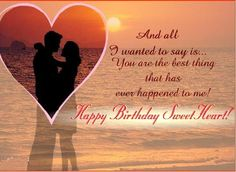 Romantic Birthday Cards And Wishes – Birthday Cards, Images And Greetings