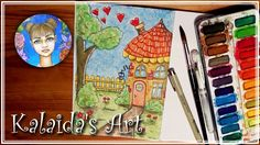 Kalaida's Art 🎨 - Wunderliches Haus / Whimsical House 💖