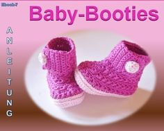 baby shoes crochet pattern free - Knitting for Beginners Crochet Shoes Pattern, Crochet Baby Booties, Crochet Slippers, Crochet Patterns, Crochet Bebe, Crochet For Kids, Free Crochet, How To Start Knitting, Knitting For Beginners