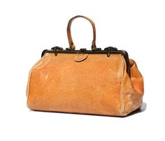 Vintage Italian Ostrich Leather Hand Bag by TanakaVintage on Etsy