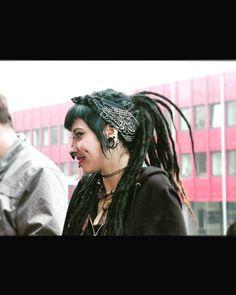 Depressed #crustpunk #crustgirl #piercedgirl #pierced #ink #blackandwhite Crust Punk, Aztec Culture, Depressed, Septum, Dreadlocks, Ink, Instagram, Hair Styles, Beauty