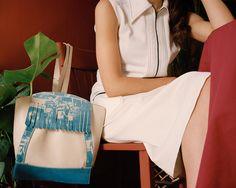 Bag by Becky Bungarz. Looks like she's using @lumi @inkodye