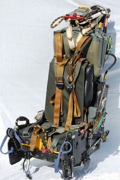 F-4 Phantom Aircraft Martin Baker Type7A  Ejection Seat.  When a Herman Miller doesn't set the right tone.