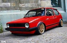 Golf 1 on bbs Volkswagen Golf Mk1, Vw Mk1, Golf 1, Jetta Mk1, Exotic Sports Cars, Bmw Cars, Cool Cars, Mk 1, Euro
